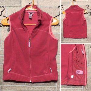 REI - Sz 10/12 Girls - Fleece vest - inside pocket